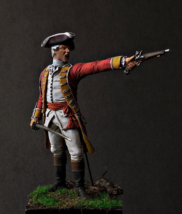Figures: British officer
