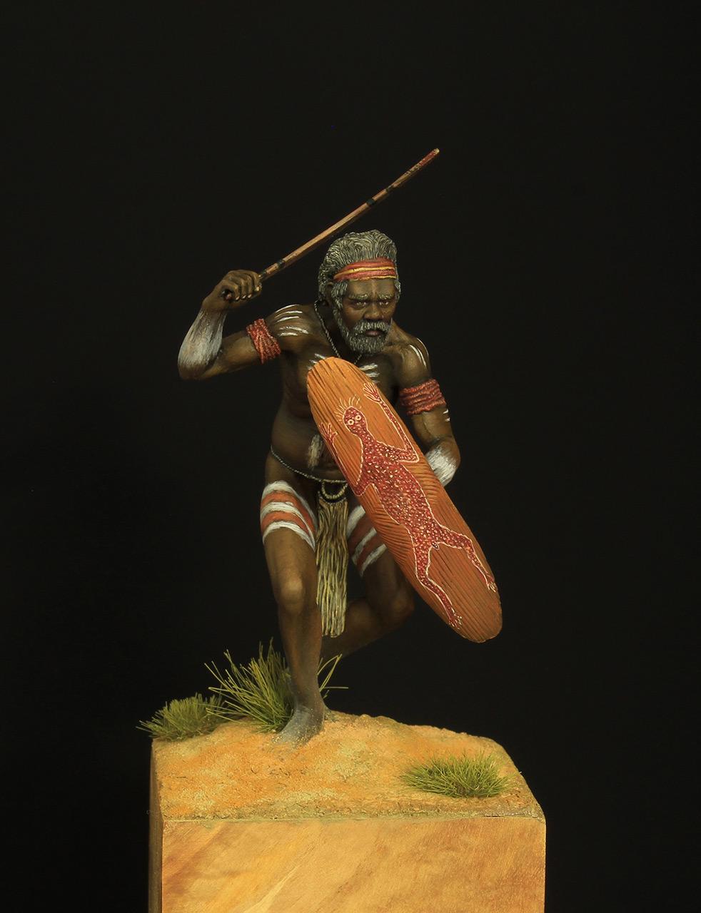 Figures: Australian aborigine, photo #1