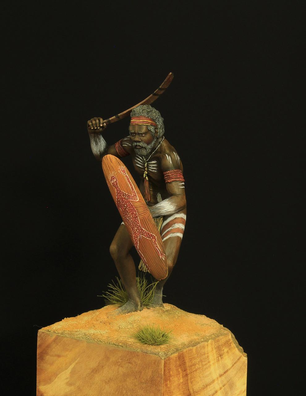 Figures: Australian aborigine, photo #2