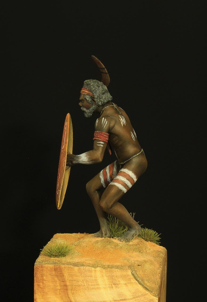 Figures: Australian aborigine, photo #3