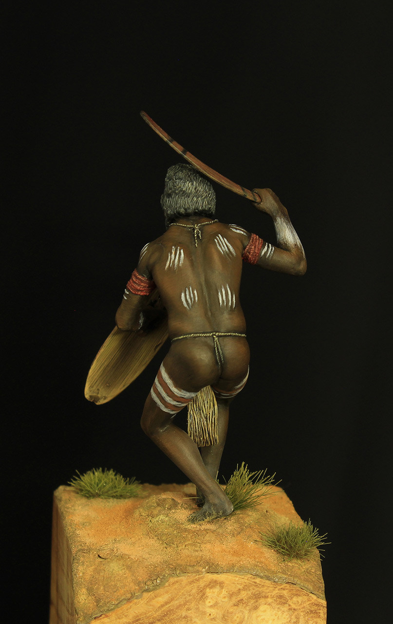 Figures: Australian aborigine, photo #4