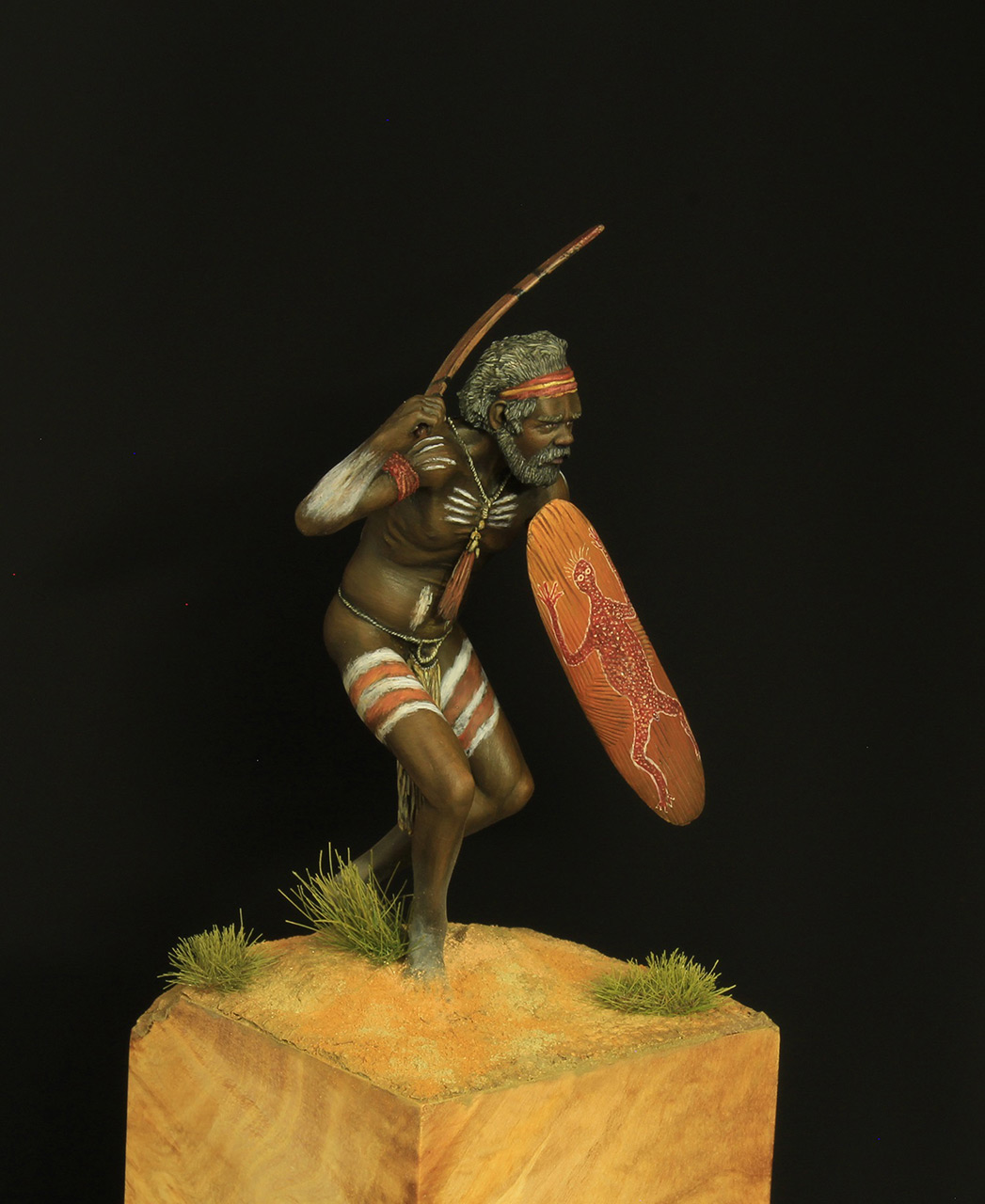 Figures: Australian aborigine, photo #6