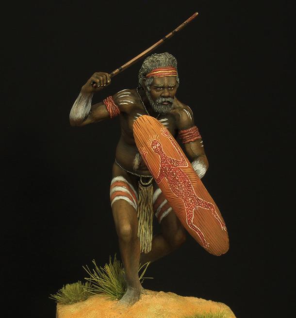 Figures: Australian aborigine