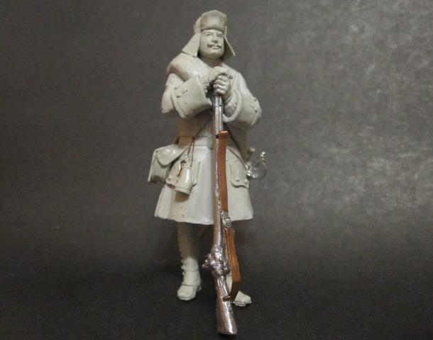 Sculpture: Fusilier, 1717