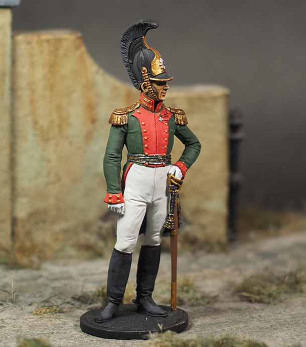 Figures: Colonel, Leib Guard Dragoons regt., 1810-15