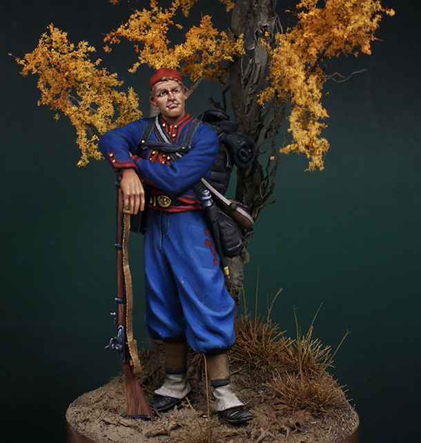 Dioramas and Vignettes: Zouaves