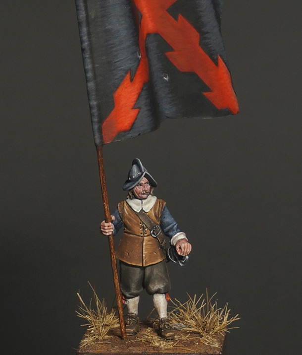 Figures: Spanish standard bearer