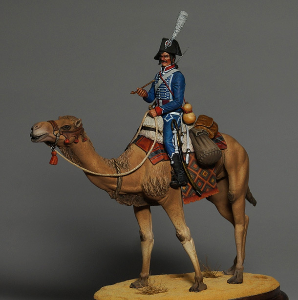 Figures: Private, Dromedary regt.