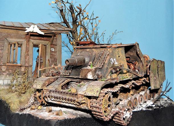 Dioramas and Vignettes: Сrumpled Brummbar