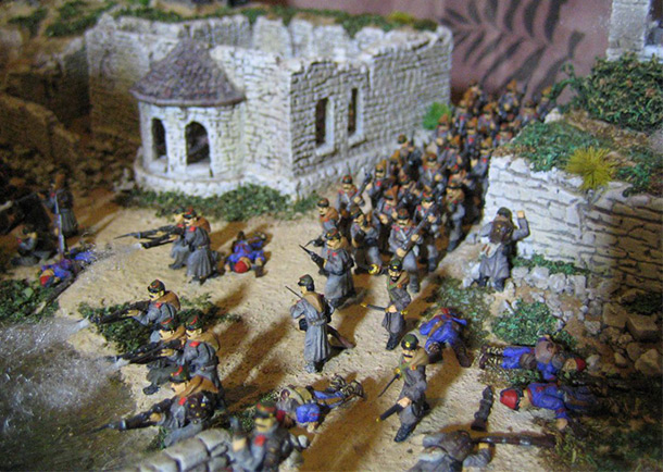 Dioramas and Vignettes: Battle of Ivanovo-Chiflik, October 2, 1877