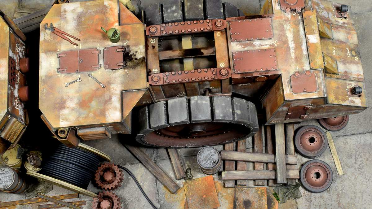 Dioramas and Vignettes: Krupp Raumer S, photo #24
