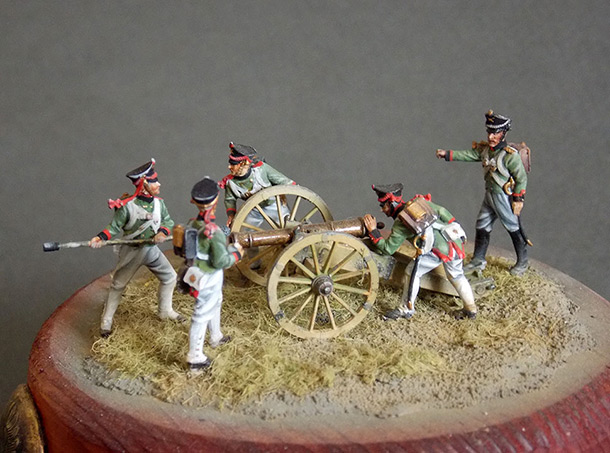 Dioramas and Vignettes: Artillery, the God of War