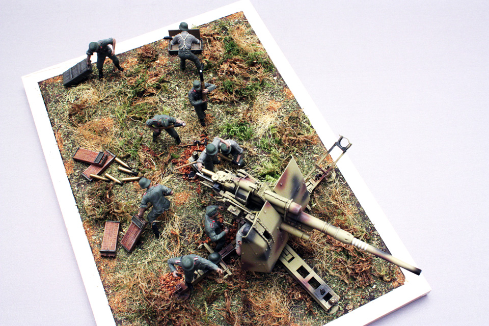 Dioramas and Vignettes: Tanks at left!, photo #16