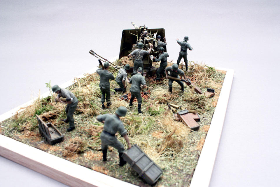 Dioramas and Vignettes: Tanks at left!, photo #6