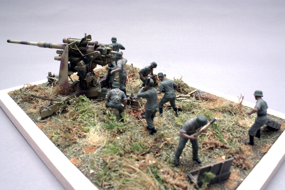 Dioramas and Vignettes: Tanks at left!, photo #7