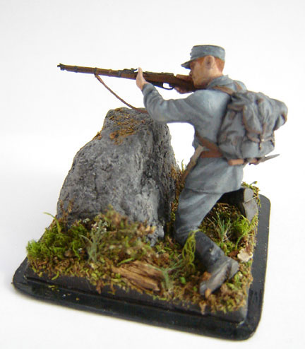 Photo 2 - Finnish Soldier, WWII | Figures | Gallery on