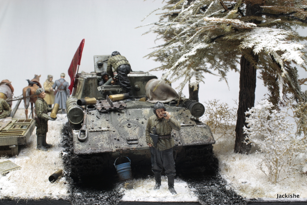Dioramas and Vignettes: Lets' refill the ammo, have a smoke and go on, photo #10