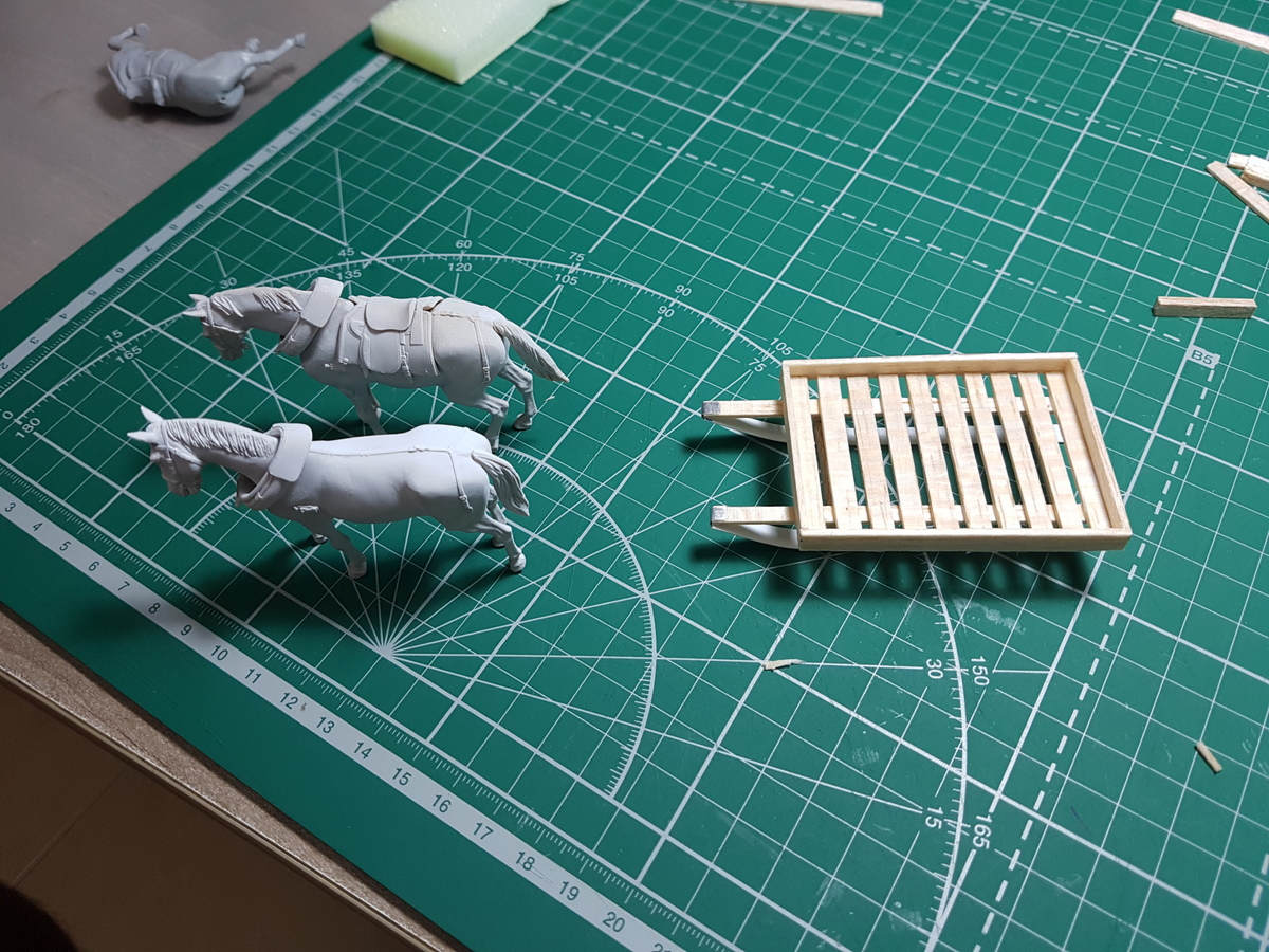 Dioramas and Vignettes: Lets' refill the ammo, have a smoke and go on, photo #17