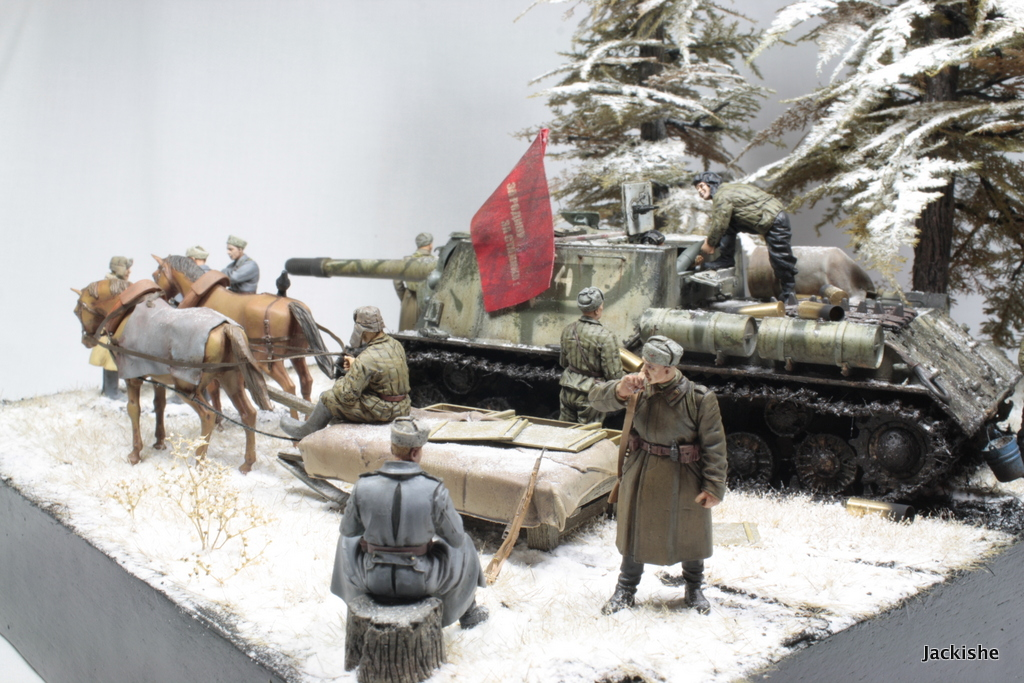 Dioramas and Vignettes: Lets' refill the ammo, have a smoke and go on, photo #3