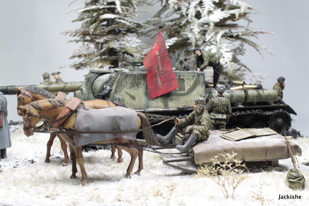Dioramas and Vignettes: Lets' refill the ammo, have a smoke and go on, photo #4