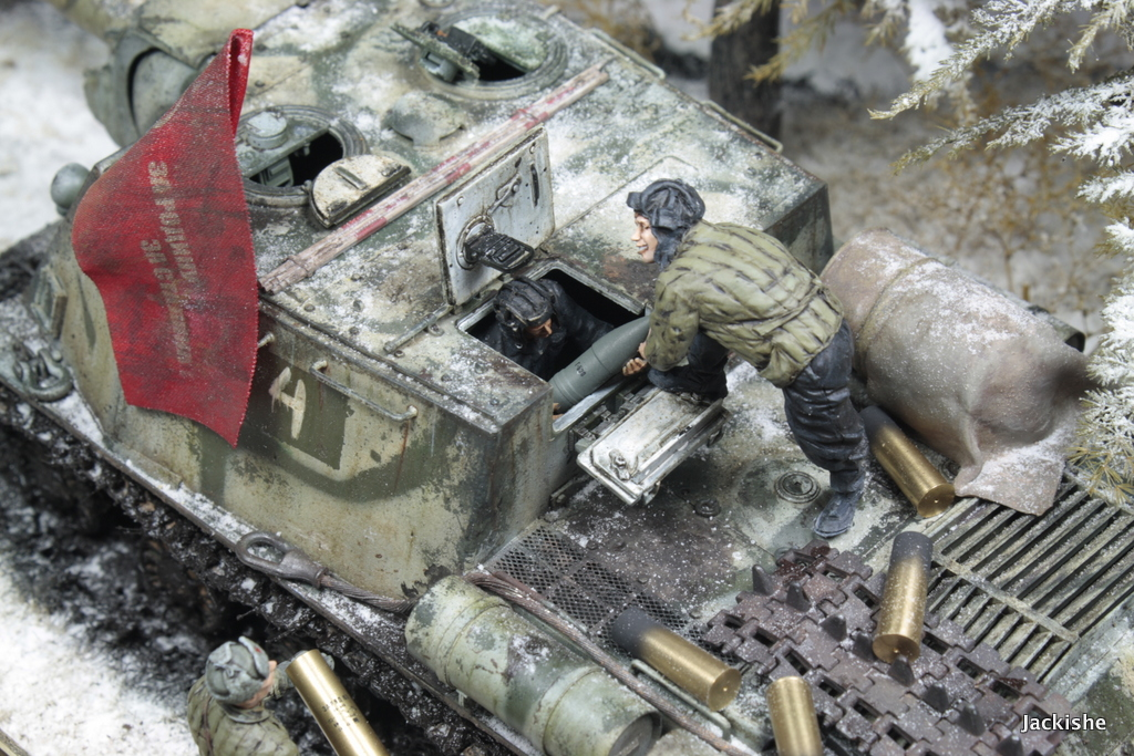 Dioramas and Vignettes: Lets' refill the ammo, have a smoke and go on, photo #5