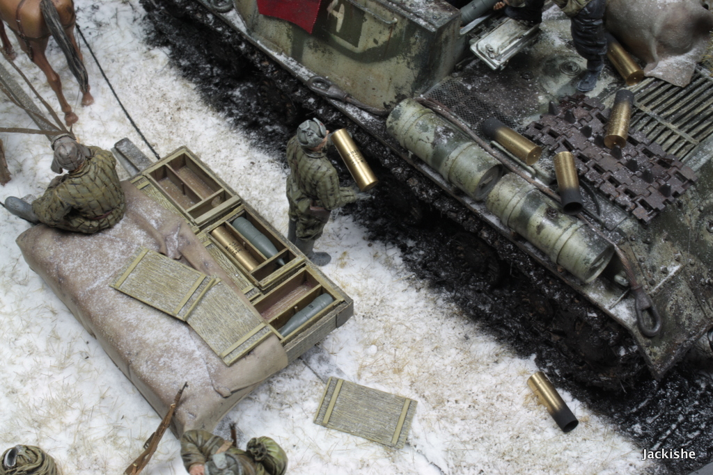Dioramas and Vignettes: Lets' refill the ammo, have a smoke and go on, photo #6