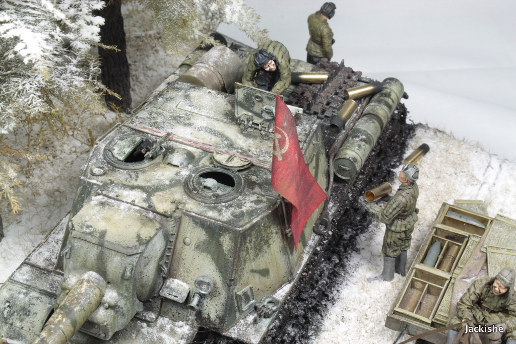 Dioramas and Vignettes: Lets' refill the ammo, have a smoke and go on, photo #7