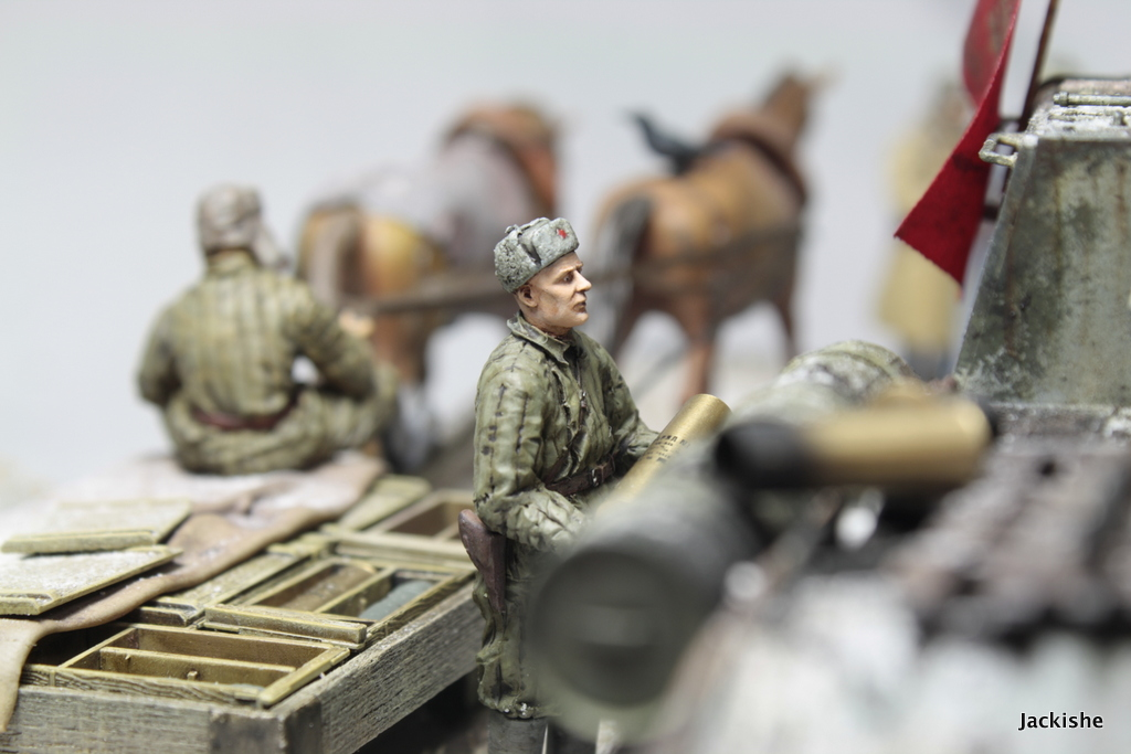 Dioramas and Vignettes: Lets' refill the ammo, have a smoke and go on, photo #8