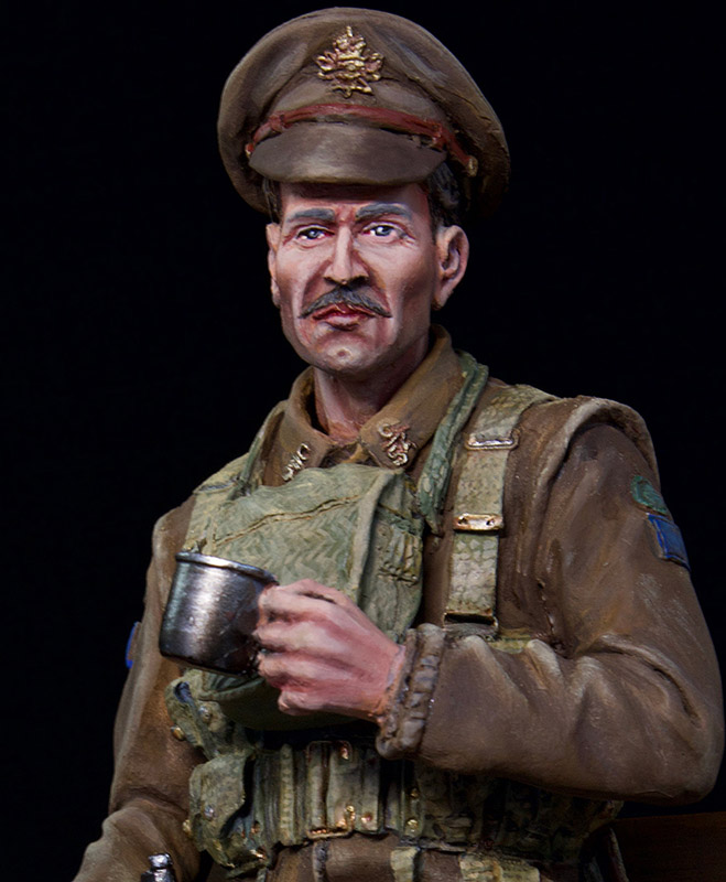 Figures: Canadian trooper, WWI, photo #11
