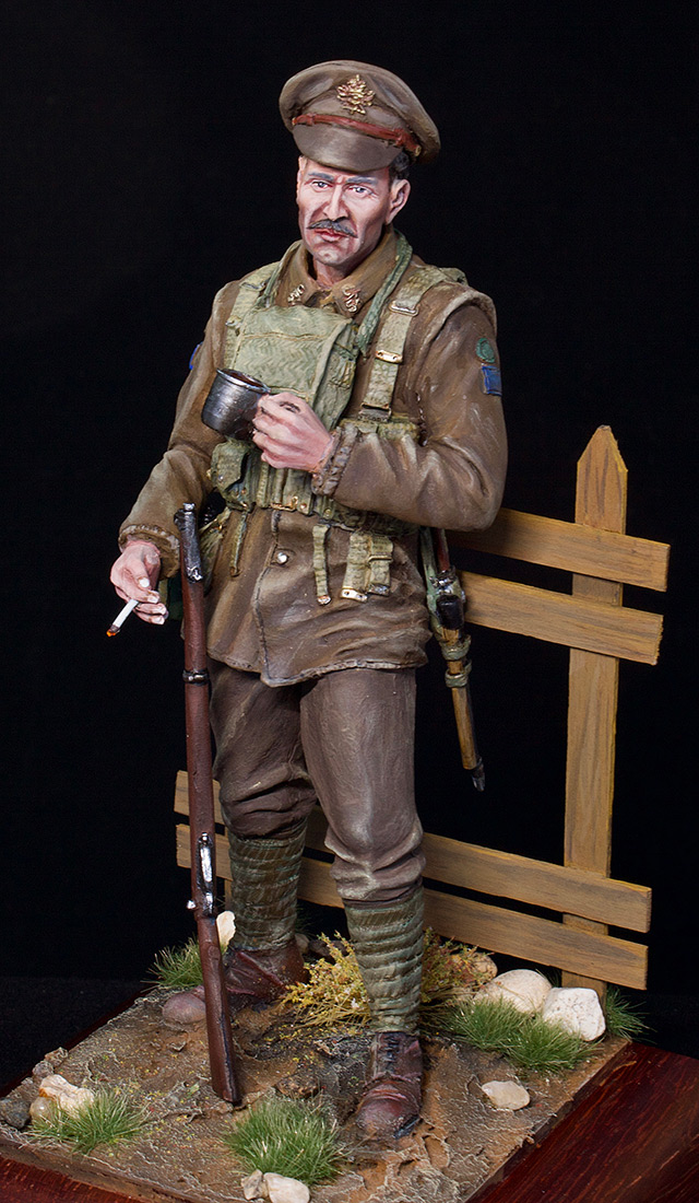 Figures: Canadian trooper, WWI, photo #12