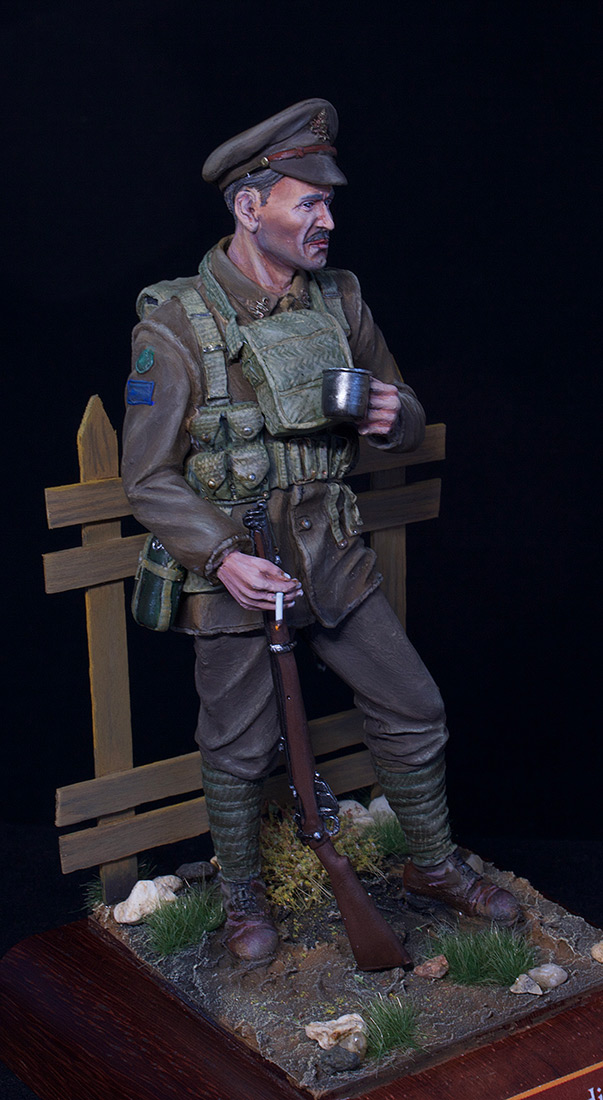 Figures: Canadian trooper, WWI, photo #13
