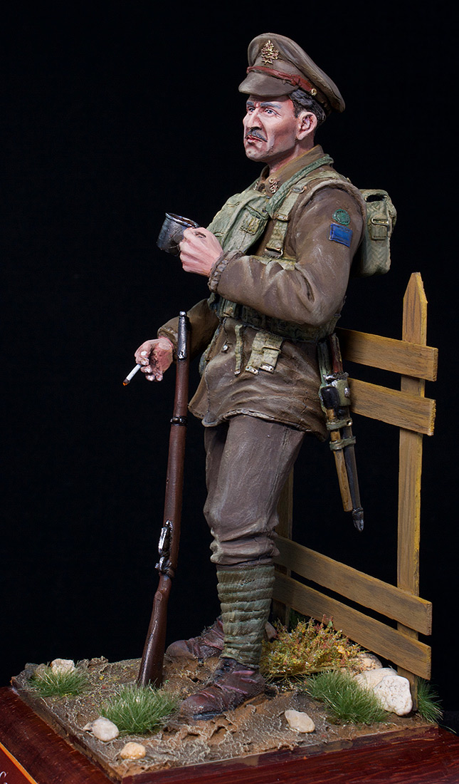 Figures: Canadian trooper, WWI, photo #3