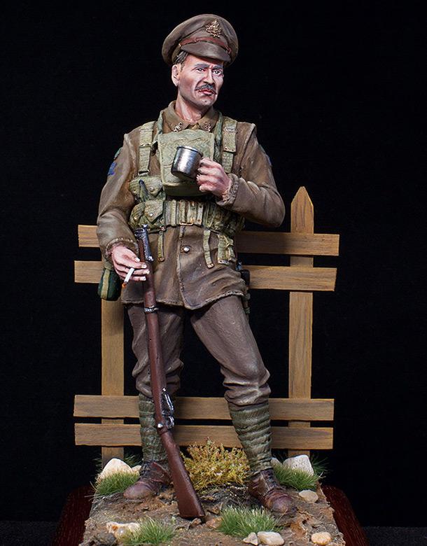 Figures: Canadian trooper, WWI