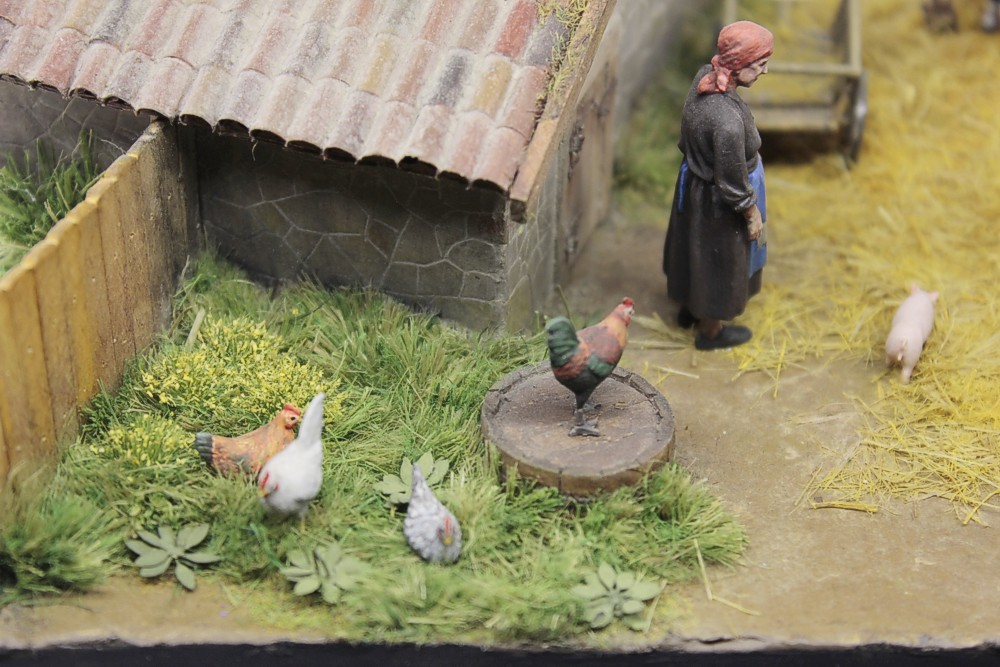 Dioramas and Vignettes: Summer day in countryside, photo #10
