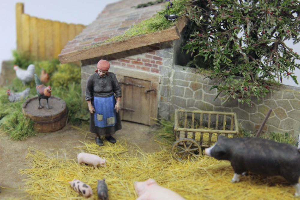 Dioramas and Vignettes: Summer day in countryside, photo #11