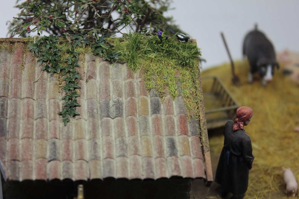 Dioramas and Vignettes: Summer day in countryside, photo #16