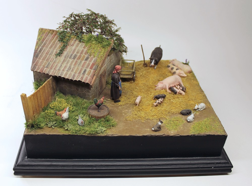 Dioramas and Vignettes: Summer day in countryside, photo #3