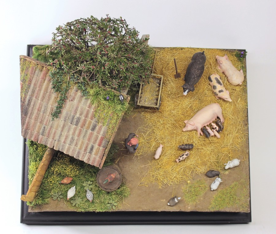 Dioramas and Vignettes: Summer day in countryside, photo #7