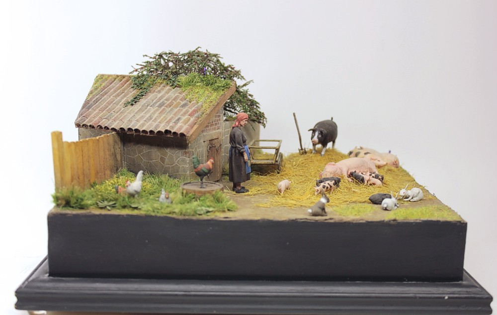 Dioramas and Vignettes: Summer day in countryside, photo #9