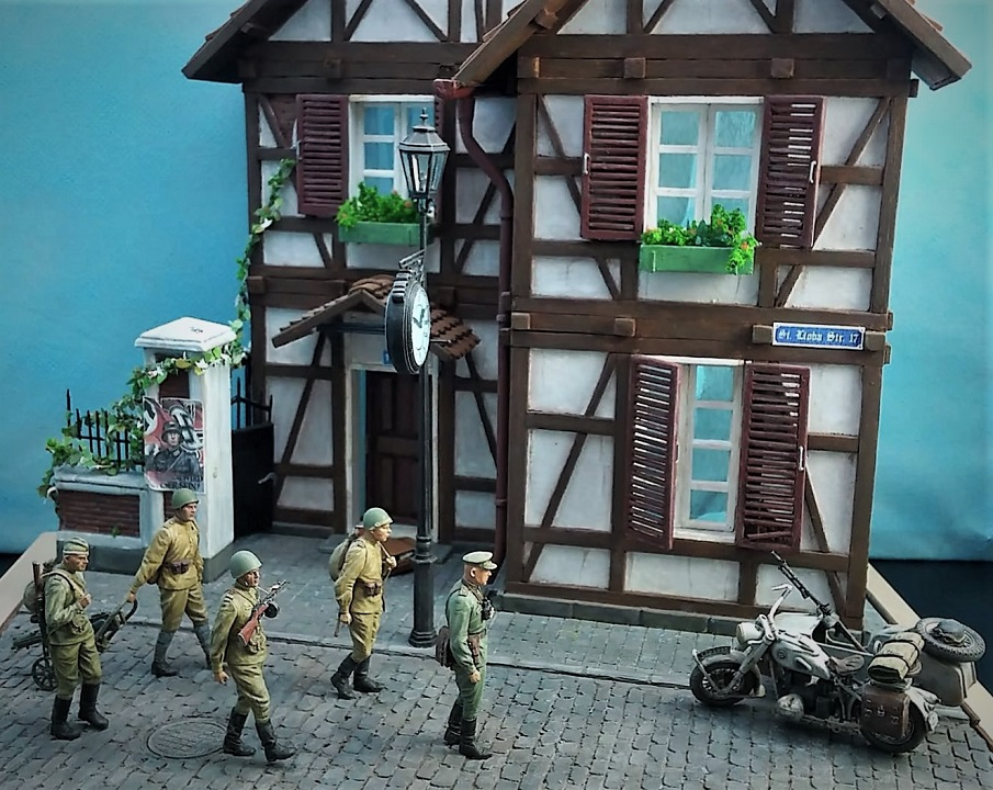 Dioramas and Vignettes: 1945. Somewhere in Germany, photo #1