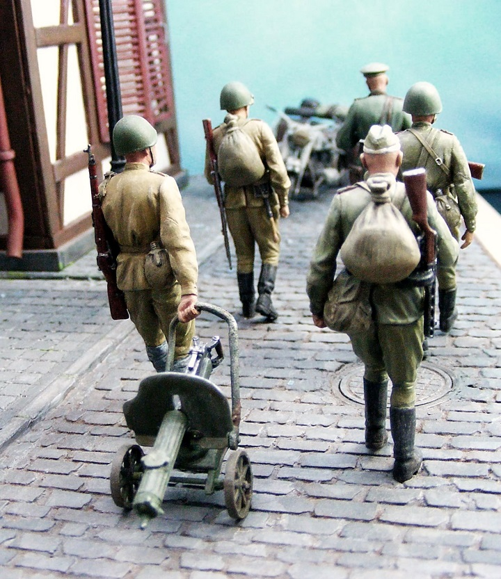Dioramas and Vignettes: 1945. Somewhere in Germany, photo #16