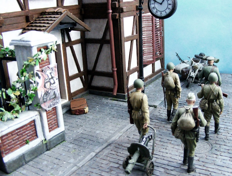 Dioramas and Vignettes: 1945. Somewhere in Germany, photo #7