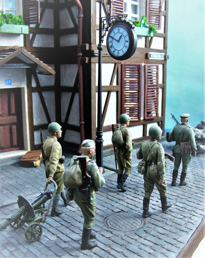 Dioramas and Vignettes: 1945. Somewhere in Germany, photo #8