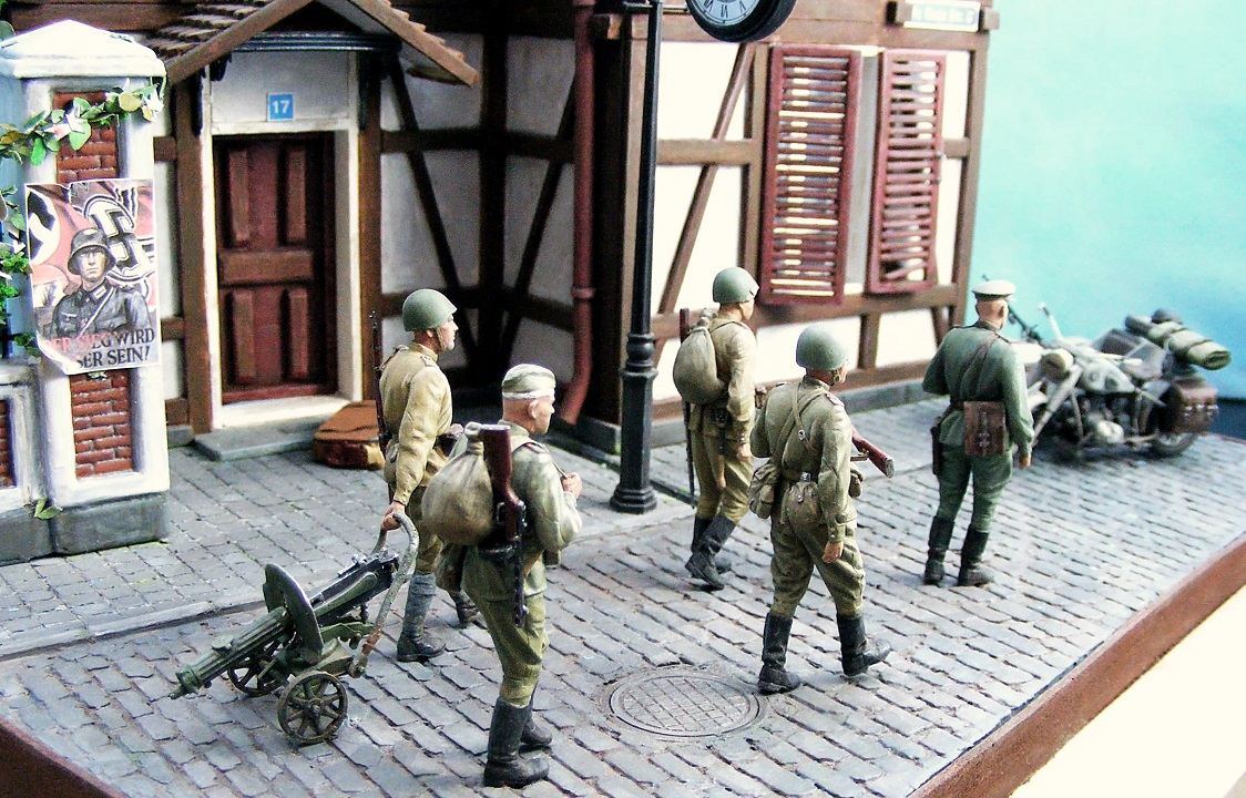 Dioramas and Vignettes: 1945. Somewhere in Germany, photo #9