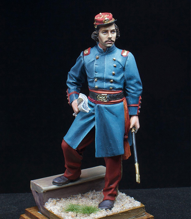 Figures: Colonel Elmer Ephraim Ellsworth