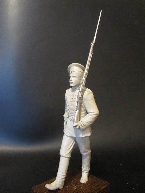 Sculpture: Guard soldier, 1913, photo #6