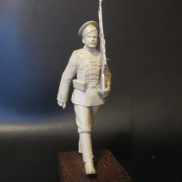 Sculpture: Guard soldier, 1913