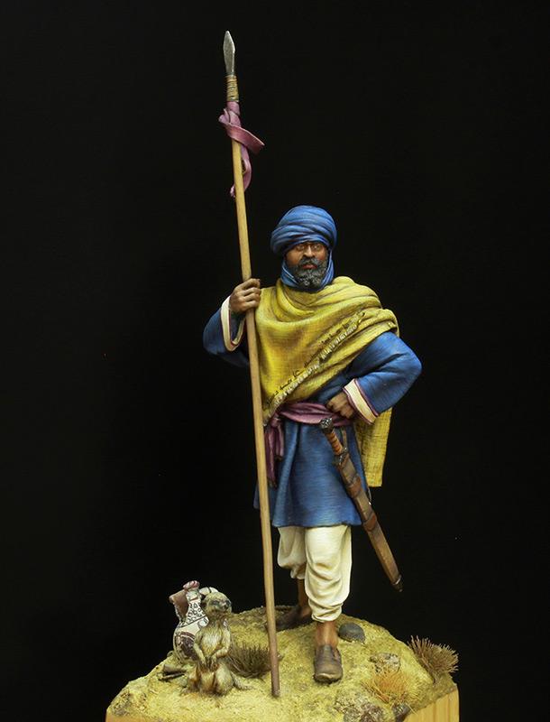 Figures: Berber horseman