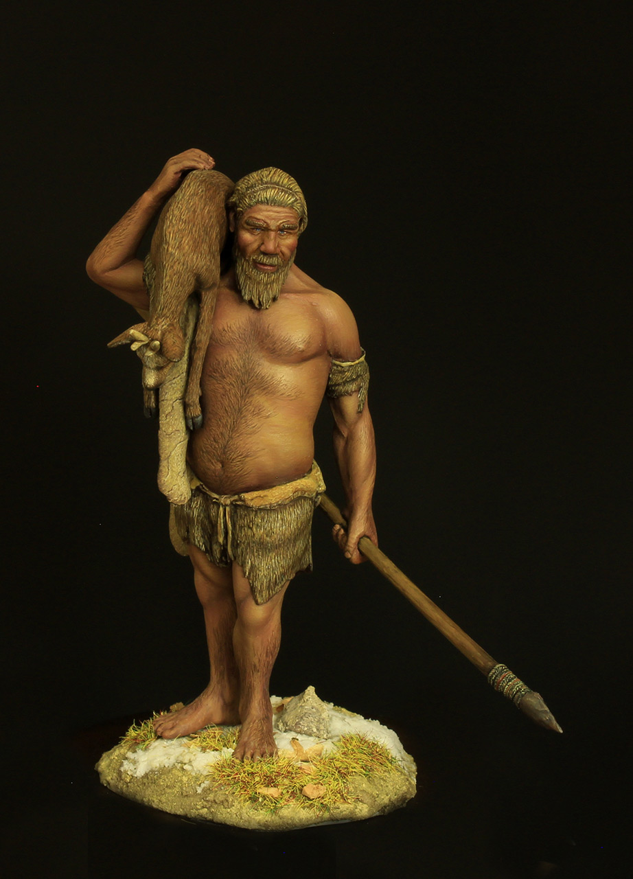 Figures: The Neanderthal, photo #1