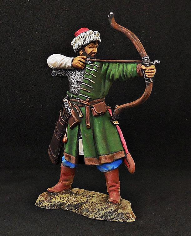 Figures: Russian archer, XIV cent.